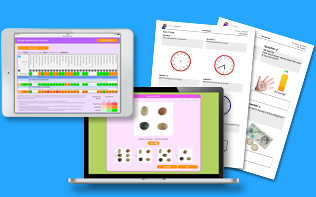 Online maths assessments, gap analysis and worksheets