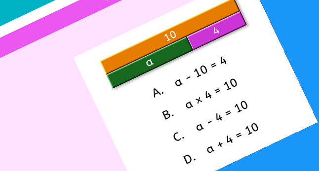 Maths mastery using Singapore bar method
