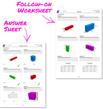SATS practise worksheets and answer sheets